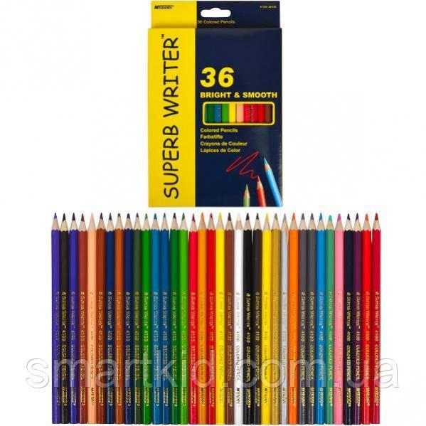Олівці кольорові 36 кол, Marco