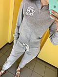 Fashion костюм Жін. L(р) сірий 0333 Off White Туреччина Весна-C, фото 3