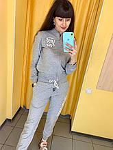Fashion костюм жіночий L(р) сірий 0333 Off White Туреччина Весна-C