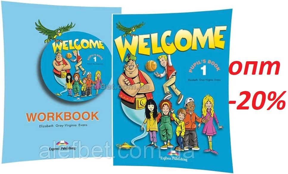 Английский язык / Welcome / Pupil's+Workbook. Учебник+Тетрадь (комплект), 1 / Exspress Publishing