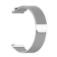 Amazfit GTS Комплект для смарт часов (металлический ремешок и бампер), Silver, фото 4