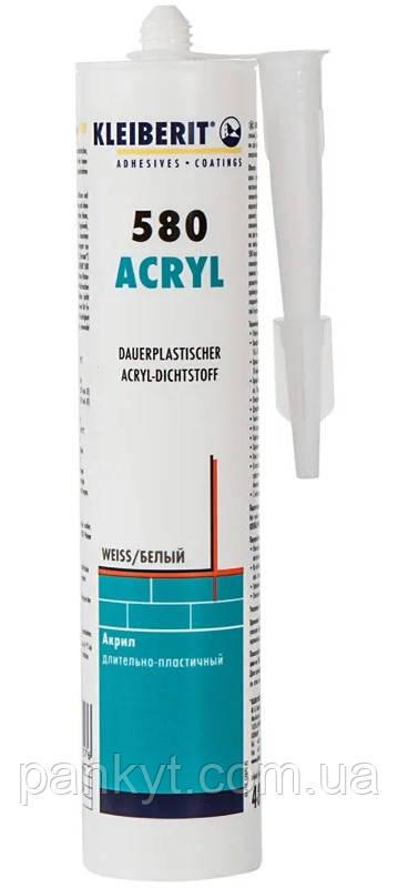 Акриловий герметик. Kleiberit 580.1. (0,49 кг). Клей герметик.