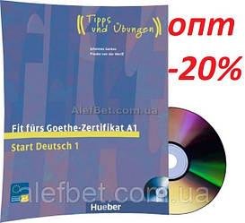 Немецкий язык / Подготовка к экзамену: Fit furs Goethe Zertifikat A1+CD / Hueber