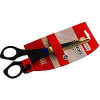 """Ножиці офісн. """"Optima"""" №O44410 21см ручка з гумовою вставкою(12)"""