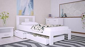Кровать деревянная односпальная Шопен ТМ Arbor Drev