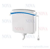 Пластиковый подвесной бачок для унитаза Nova 4080N (Турция)