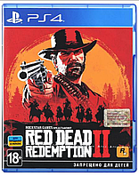 Диск PS4 Red Dead Redemption 2