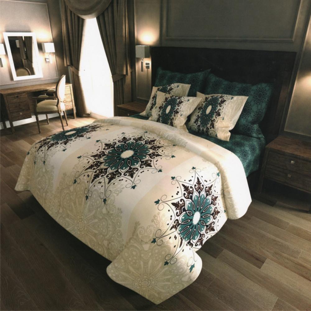 Постельное белье Кулон бязь ТМ Комфорт-текстиль Евро макси