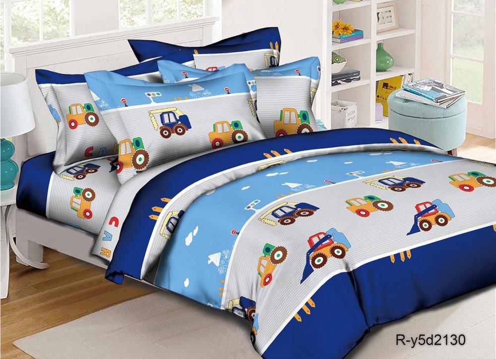 Постельное белье Транспорт ранфорс ТМ Комфорт текстиль (в детскую кроватку)