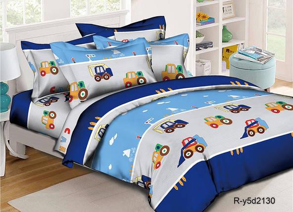 Постельное белье Транспорт ранфорс ТМ Комфорт текстиль (в детскую кроватку), фото 2