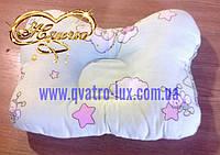 """Ортопедическая подушка для новорожденного """"Голубая"""""""