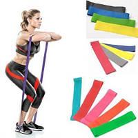 Набор фитнес резинок для фитнеса Esonstyle из 5 лент в удобном мешочке 5 штук! Лучшая цена