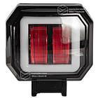 Фара LED квадратная 20W (+ LED кольцо + strobe light), фото 2