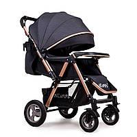 Прогулочная коляска Ninos Maxi (темно-серый цвет)