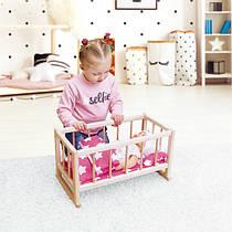 Игрушечные кроватки для кукол и пупсов