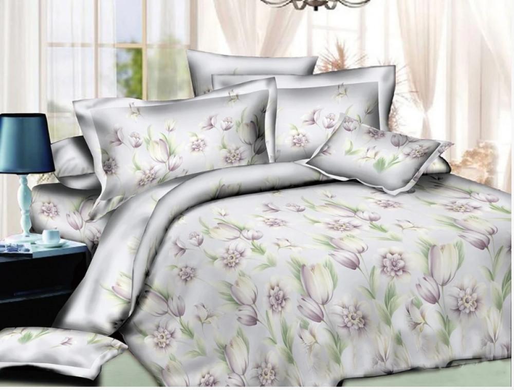 Постельное белье Апрель ранфорс  ТМ Комфорт-Текстиль (Двуспальный)