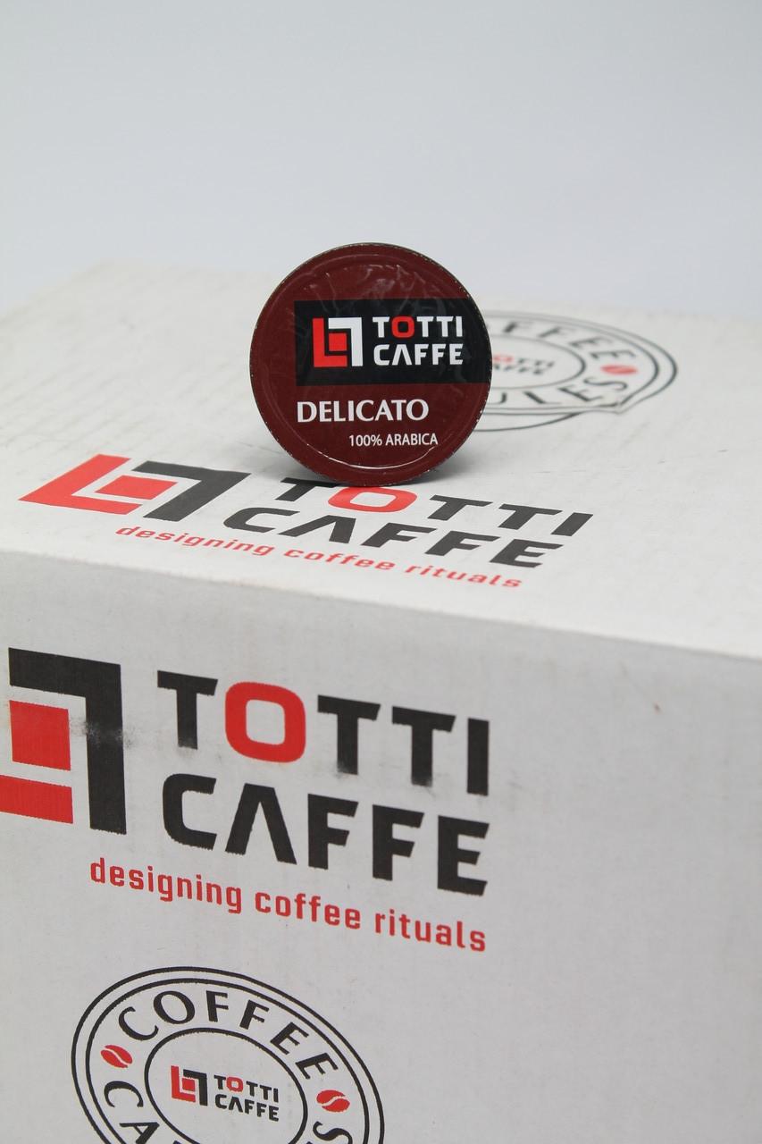 Кофе в капсулах TOTTI Сafe Delicato 8 г  ОПТ РОЗНИЦА