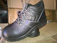 Ботинки кожаные литьевые.
