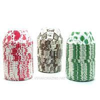 Бумажные формы для кексов и маффинов / Паперові форми для кексів і маффінів 75х30 мм (500 шт.) Микс