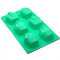 Силиконовая форма для выпечки в духовке / Силіконова форма для випічки в духовці Cake (зеленый)