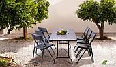 Набор складной туристической мебели AMF стол Форд + стульчики Морган пластик для шестерых