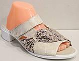 Сабо женские экокожа на низком каблуке от производителя модель МИ5111-2, фото 2