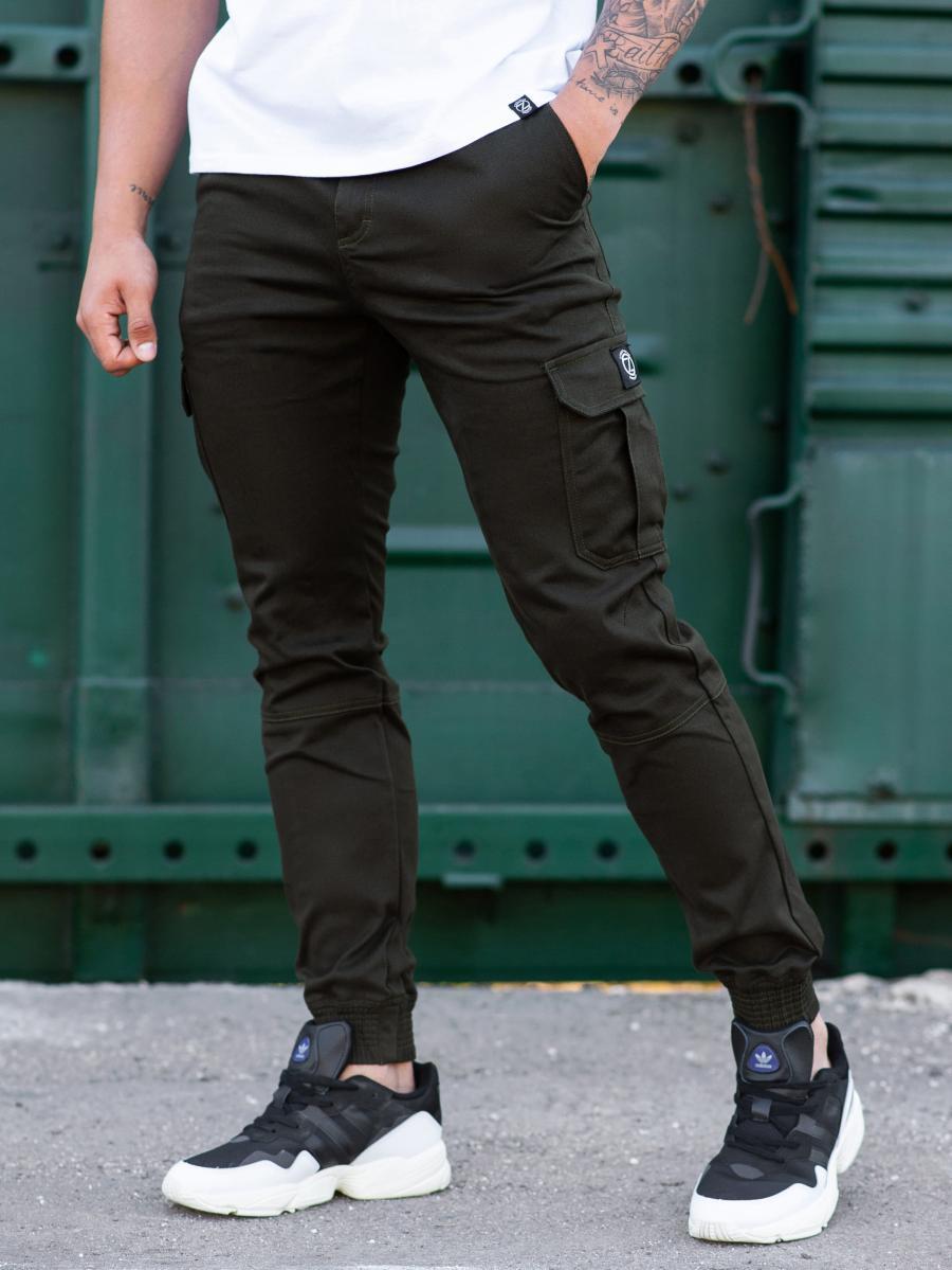 Карго брюки BEZET Basic khaki'20 - XS