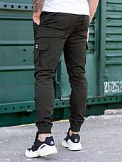 Карго брюки BEZET Basic khaki'20 - L, фото 3