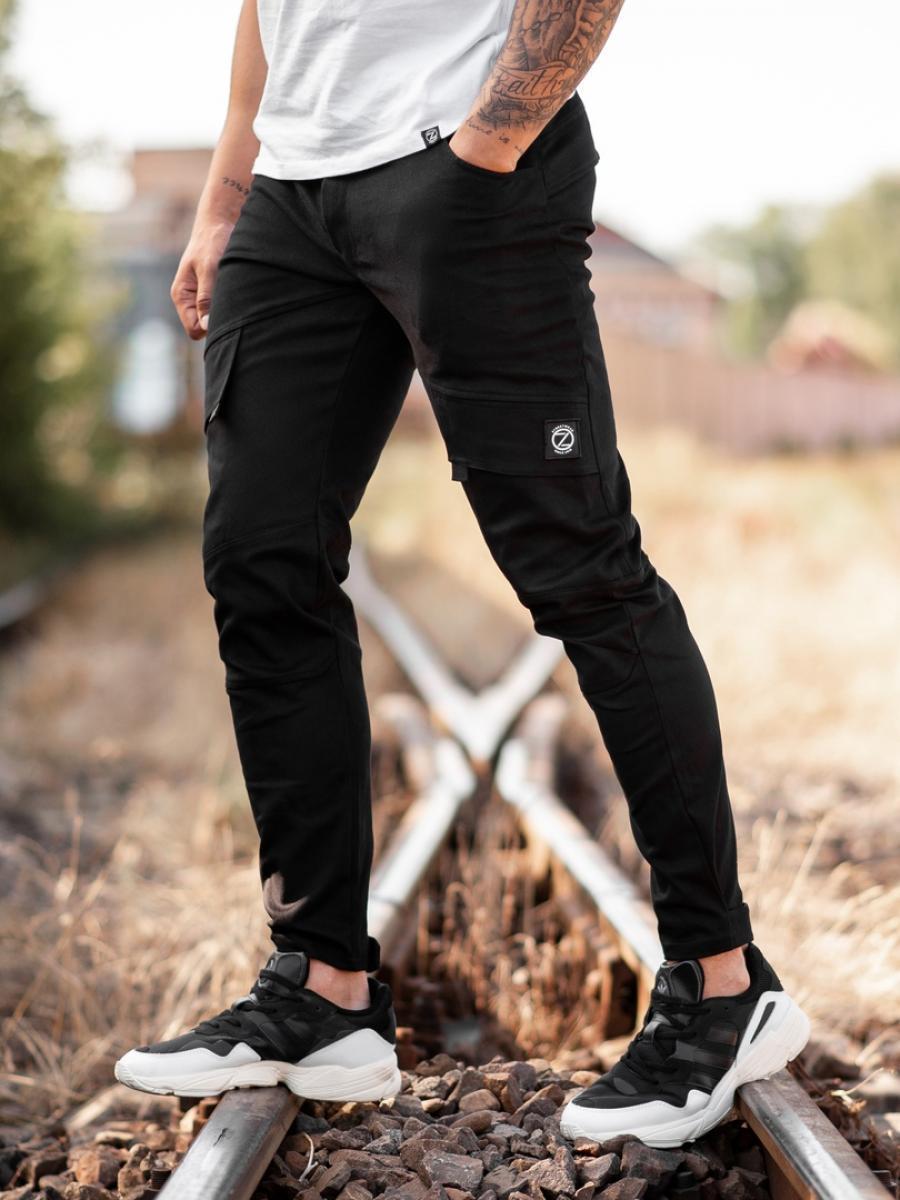 Карго брюки BEZET Battle black'20 - XL