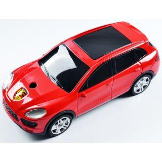 "Запальничка подарункова газова ""Машина Porsche"" червона сувенір №4425"