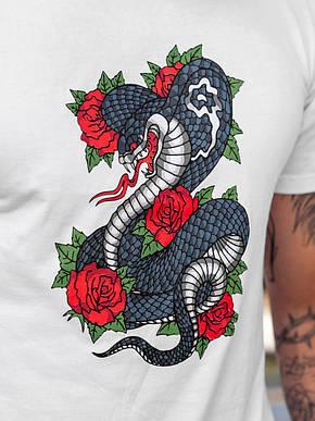 Футболка BEZET snake white'19 - XL, фото 2