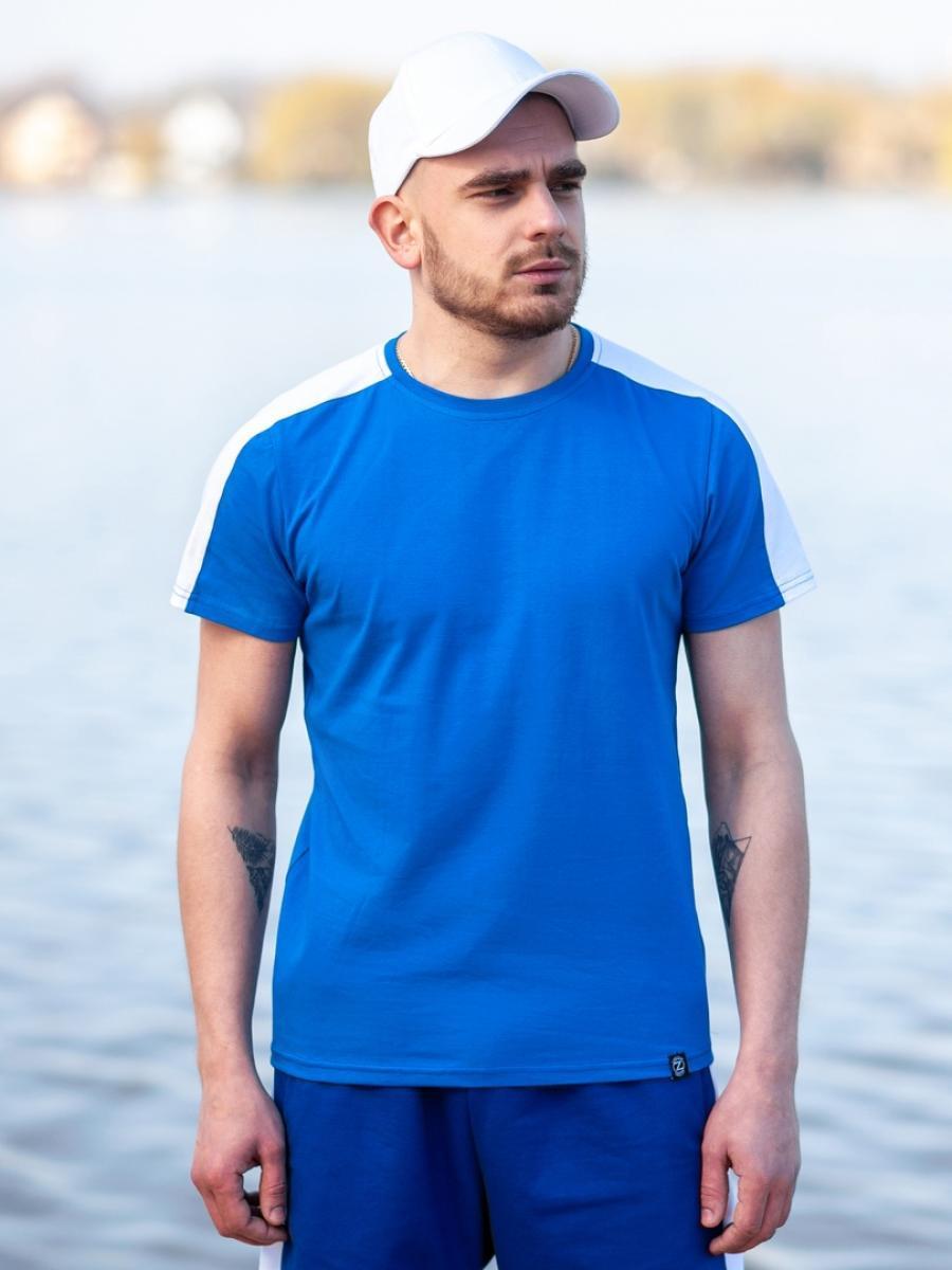 Футболка BEZET shark blue/white'19 - S