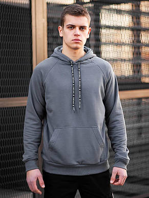 Худи BEZET Original 2.0 grey'20 - L, фото 2