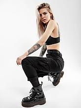 Карго брюки женские BEZET Xena black'20 - M