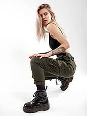 Карго брюки женские BEZET Xena khaki'20 - S, фото 2