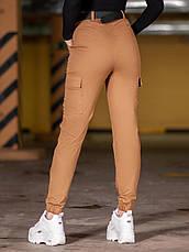 Карго брюки женские BEZET Eva brown'20 - XS, фото 3
