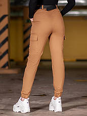 Карго брюки женские BEZET Eva brown'20 - S, фото 3