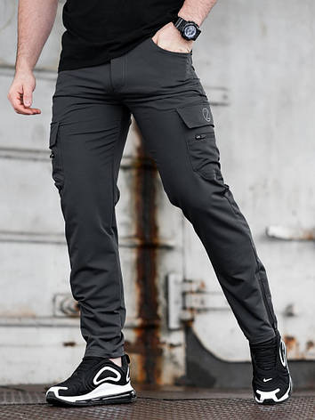 Карго брюки BEZET Comfort dark grey'20 - L, фото 2