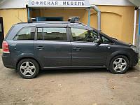 Дефлекторы окон ветровики Opel Zafira 2006-