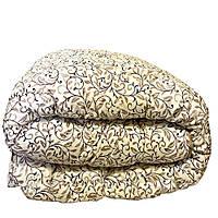 Одеяло двуспальное зимнее холлофайбер, хлопок 180 х 210 см бязь №11