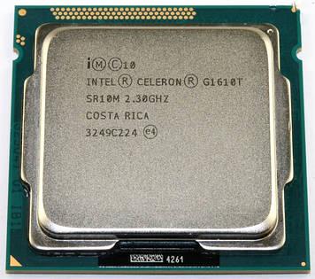 Процессор Intel Celeron G1610T 2.3GHz/2M/5GT/s (SR10M) s1155, tray