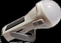 Фонарь лампа USB 1000 mAh / ZM - 6618 с солнечной батареей / 8525