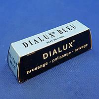 Паста полірувальна для нержавіючої сталі, жорстка для супер фінішної поліровки, синій, 120 г - DIALUX BLEU