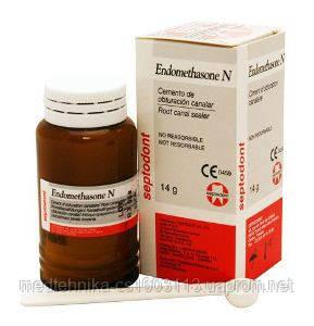 Эндометазон порошок , 14г. матеріал д/пломбування каналів
