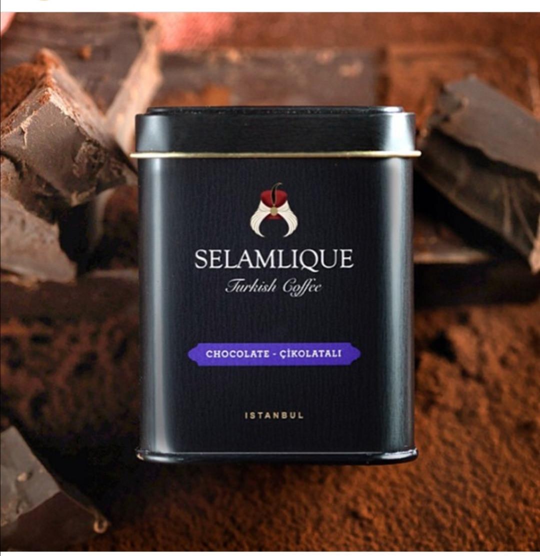 Турецкий кофе молотый Selamlique с шоколадом 125 г