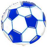 Гелієва куля фольга 45см 401506 синій