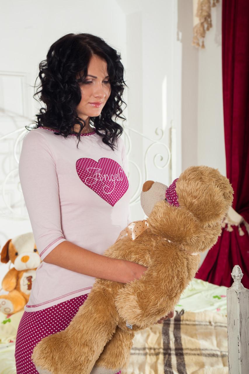 Bono Женская пижама Angel розовая 950503