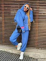 Мягкий спортивный женский костюм