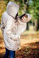 Зимняя куртка для беременных и слингомам, фото 1