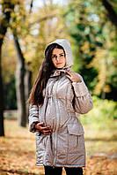 Зимняя куртка для беременных и слингомам